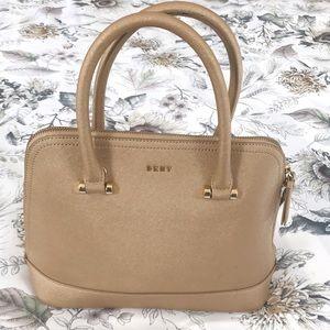 DKNY Medium Size Top Handle Sleek Style Satchel